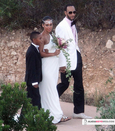 Alicia Keys Wedding Pictures