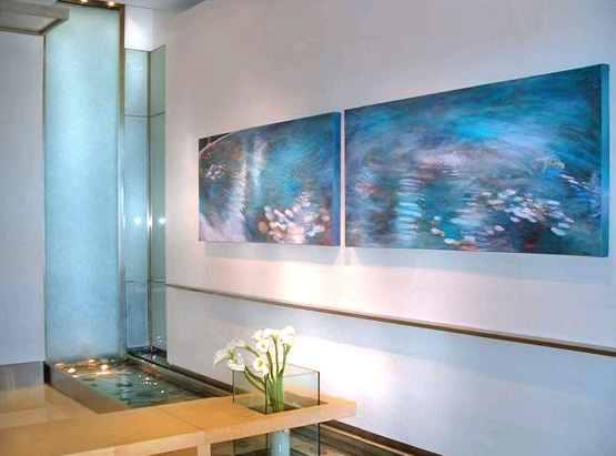Modern interior water feature ideas for the home Home water features